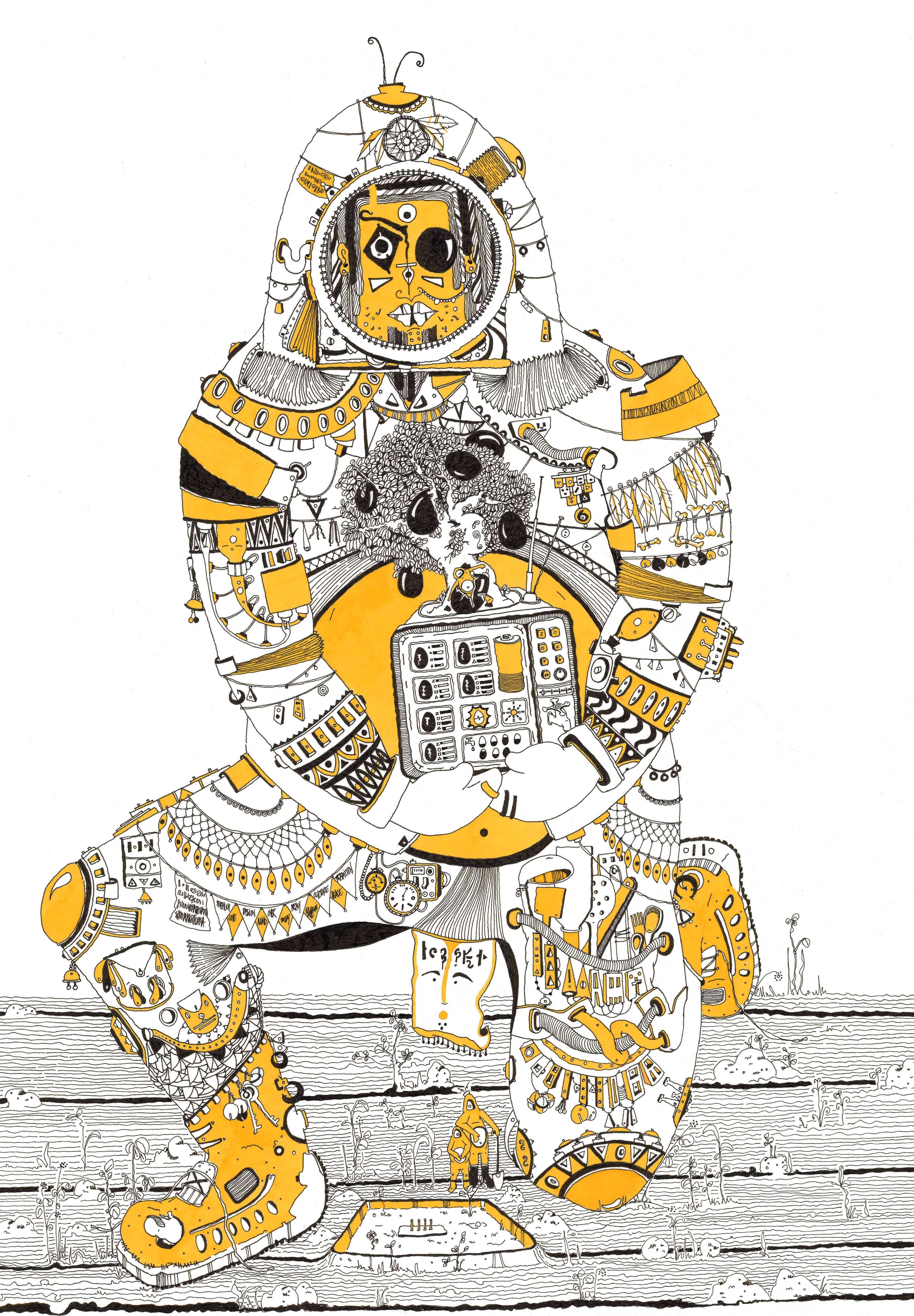 23.The big little yellow man